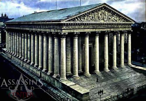 Iglesia de la Madeleine de Paris