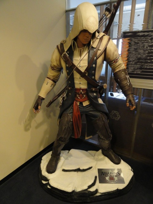 Connor statue